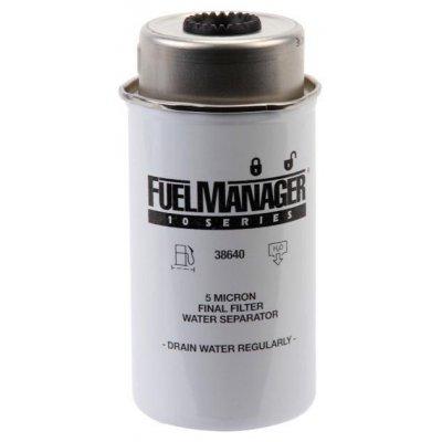 Parker Fuel Manager 38640 vložka filtru, 5M, (12 ks)