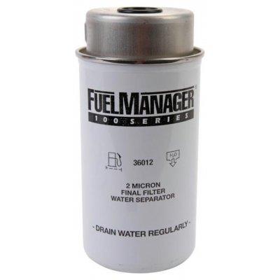 Parker Fuel Manager 36012 vložka filtru, 2M, (12 ks)