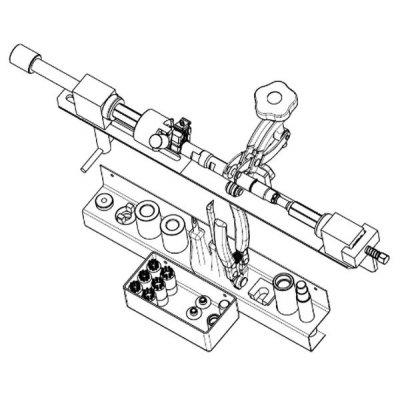 Delphi YDT600 kompletní sada nářadí na opravy CR vstřikovačů DELPHI