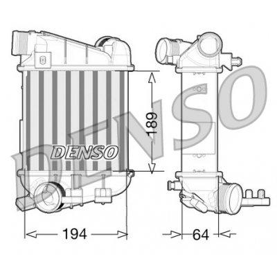 Denso DIT02027 chladič
