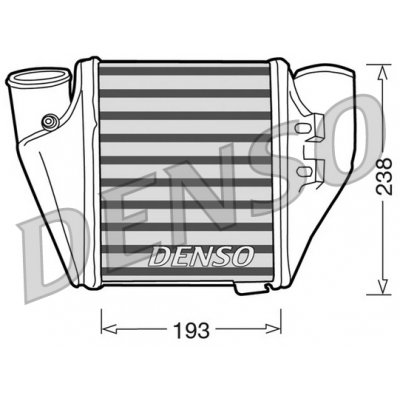 Denso DIT02007 chladič