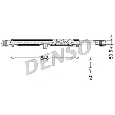 Denso DIT02026 chladič