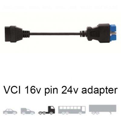 Delphi SV10609 kabel VCI 16-pin 24V OBD adaptér pro kamiony