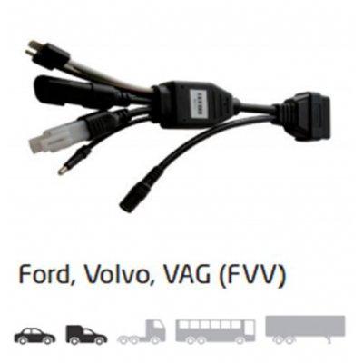Delphi SV10481 první generace kabelů OBD Ford VW Volvo