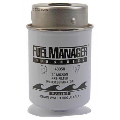 Parker Fuel Manager 40958 vložka filtru, (12 ks)