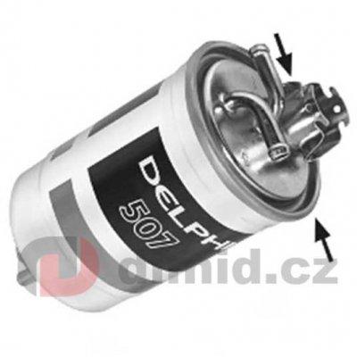 Delphi HDF507 filtr nafty
