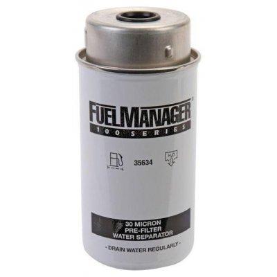 Parker Fuel Manager 35634 vložka filtru, 30M, (12 ks)