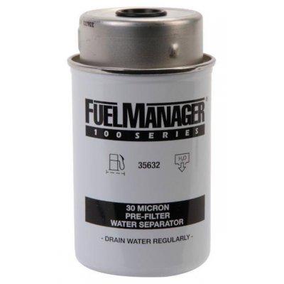 Parker Fuel Manager 35632 vložka filtru, 30M, (12 ks)