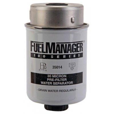 Parker Fuel Manager 35014 vložka filtru, 30M, (12 ks)