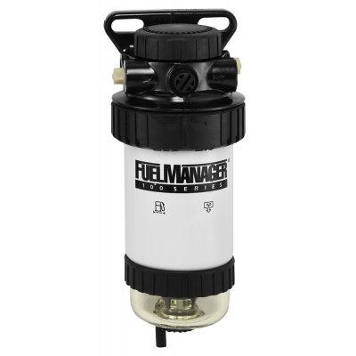 Fuel Manager 34818 sestava před-filtru, separátor vody FM100, 150µm