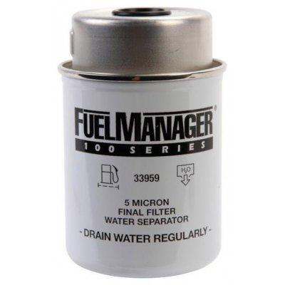 Parker Fuel Manager 33959 vložka filtru, 5M, (12 ks)