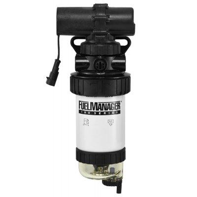 Parker Fuel Manager 33945 sestava finálního filtru, separátor vody, elektrické čerpadlo FM100, 5µm
