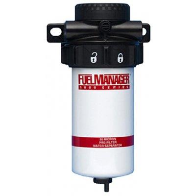 Fuel Manager 33700 sestava před-filtru FM1000, 30µm