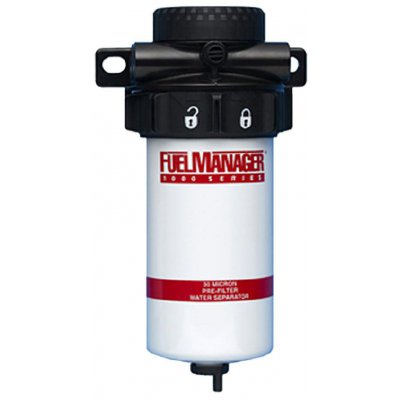 Parker Fuel Manager 33692 sestava před-filtru FM1000, 30µm