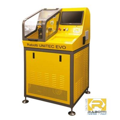 Rabotti UNITEC EVO zkušební stanice vstřikovačů 2500 Bar