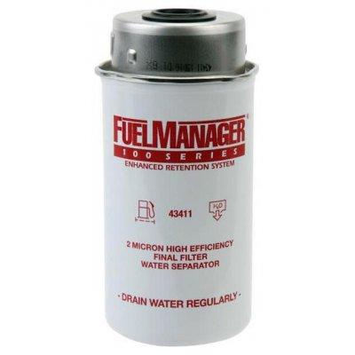 Parker Fuel Manager 43411 vložka filtru, (12 ks)