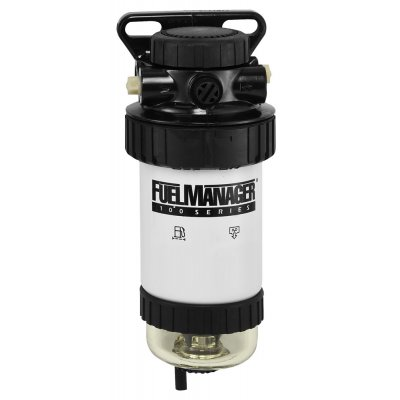 Parker Fuel Manager 43374 sestava finálního filtru, separátor vody FM100, 5µm
