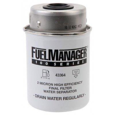 Parker Fuel Manager 43364 vložka filtru, (12 ks)