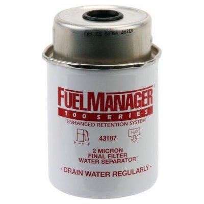 Parker Fuel Manager 43107 vložka filtru, (12 ks)