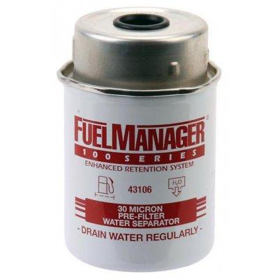Parker Fuel Manager 43106 vložka filtru, (12 ks)