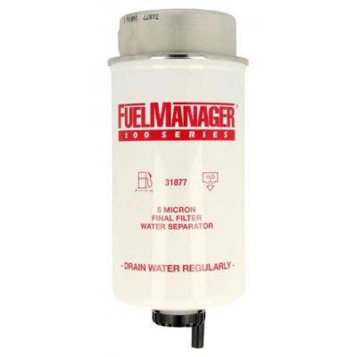 Parker Fuel Manager 31877 vložka filtru, 5M, (12 ks)