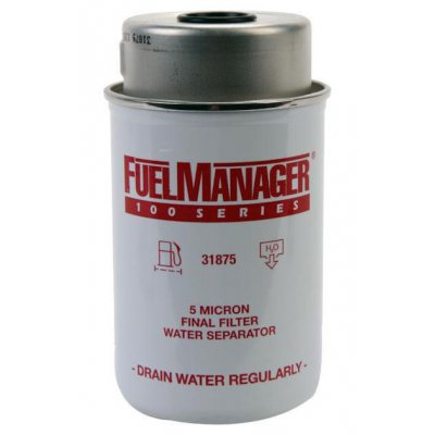 Parker Fuel Manager 31875 vložka filtru, 5M, (12 ks)