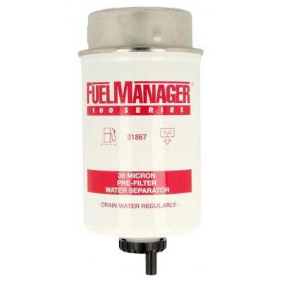 Parker Fuel Manager 31867 vložka filtru, 30M, (12 ks)