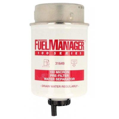 Parker Fuel Manager 31649 vložka filtru, 150M