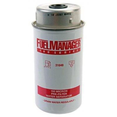 Parker Fuel Manager 31648 vložka filtru, 150M