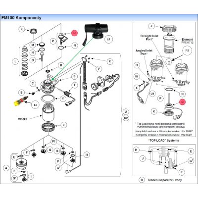 Parker Fuel Manager 30446 vyhřívač 12V, 100W