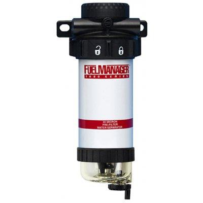 Parker Fuel Manager 40601 sestava finálního filtru, separátor vody FM1000, 5µm
