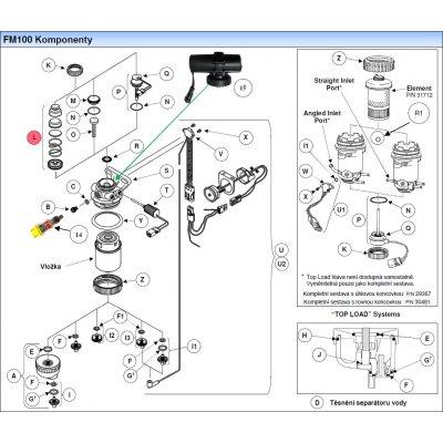 Parker Fuel Manager 29578 sestava ruční palivové pumpičky