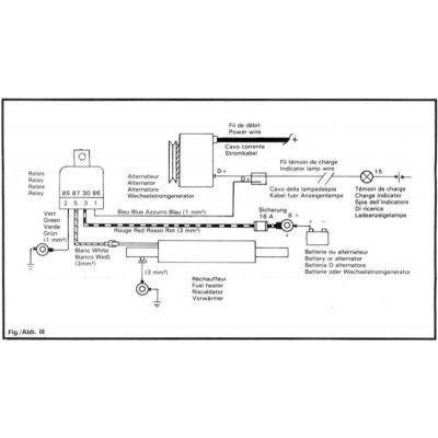 Stanadyne 26296P průtokový elektrický ohřívač nafty