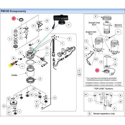 Parker Fuel Manager 28849 matice čepičky, (6 ks)